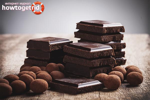 Правила хранения шоколада