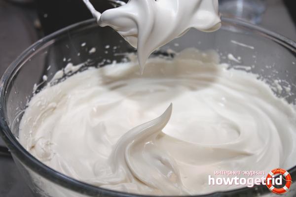 Как сделать белковый крем в домашних условиях
