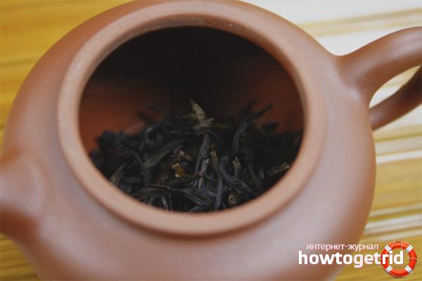 Соблюдение дозировки чая