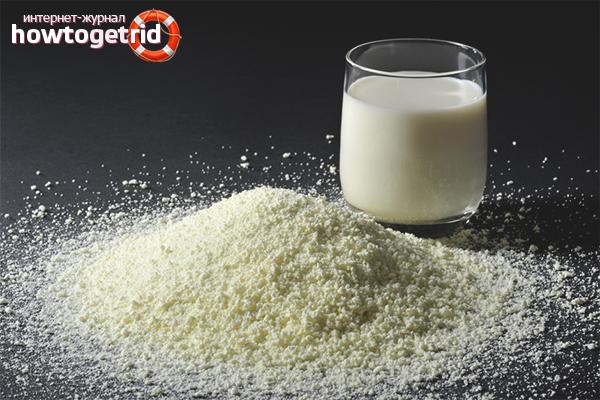 Технология разведения сухого молока