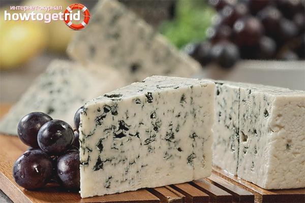 Творожный сыр с плесенью «Дор-блю»