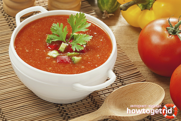 Gazpacho is not tomato soup