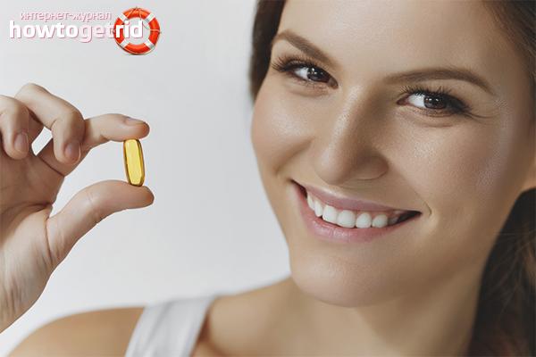 Как применять витамин Е для кожи лица