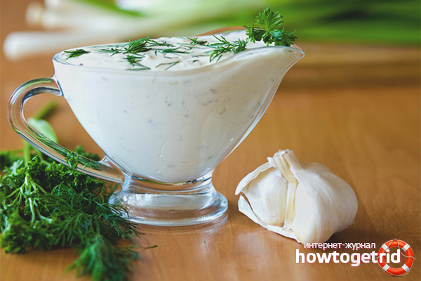 Как сделать чесночный соус