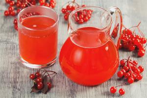 Как сделать сок из калины