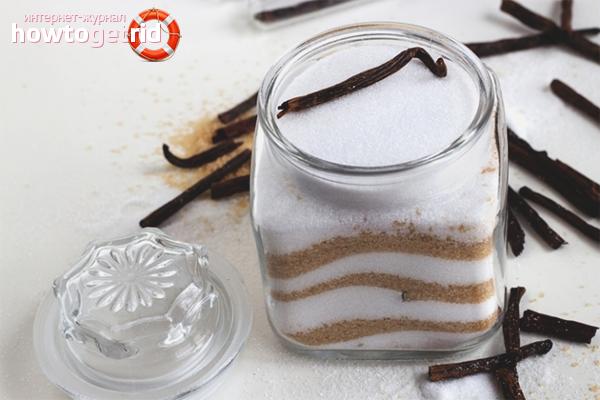 Как сделать ванильный сахар в домашних условиях