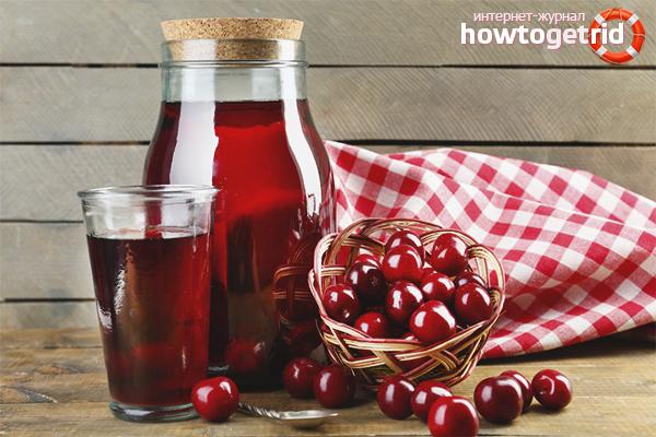 Как варить компот из вишни: 10 рецептов