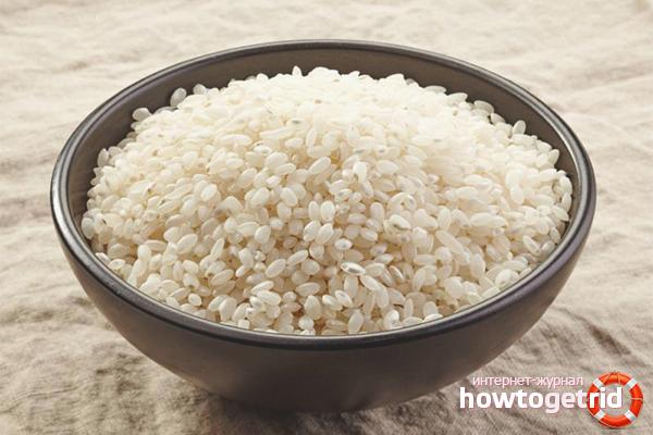 Как варить круглый рис на гарнир