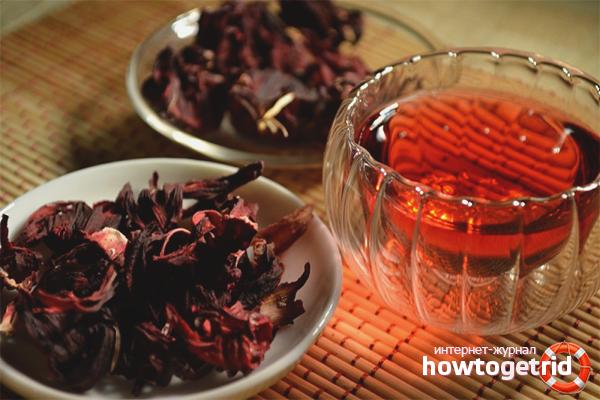 Как заварить чай каркаде для лечебных целей