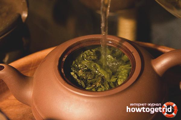 как правильно заварить имбирный чай для похудения