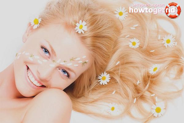 что используют для придание блеска волосам