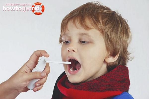 Медикаментозное лечение красного горла