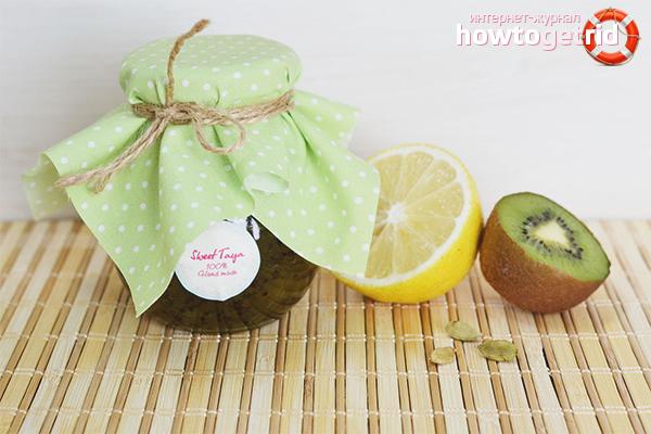 Варенье из киви и лимона