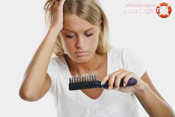 Что делать, если волосы сильно выпадают