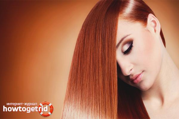 Что такое кератиновое выпрямление волос?