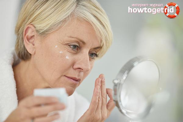 Домашние кремы для кожи лица после 40