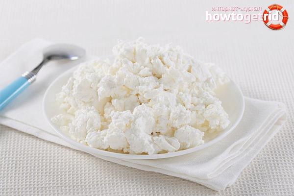 Как сделать творог из обезжиренного молока в домашних условиях