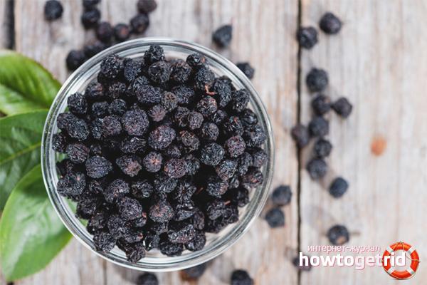 Как сушить черноплодную рябину: 4 способа