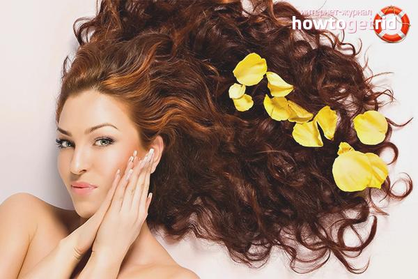Народные способы ухода за сухими волосами