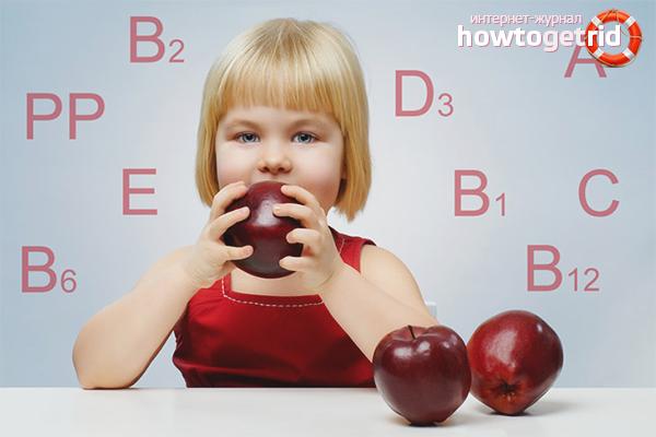 Питание для укрепления нервной системы ребенка
