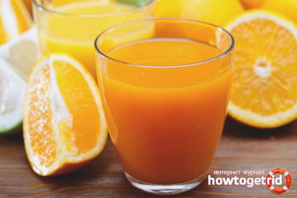 Польза апельсинового сока для курильщиков