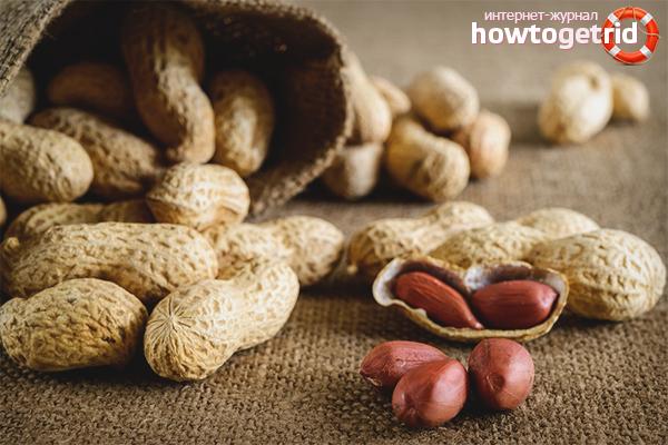 Польза арахиса для детей