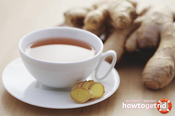 Польза имбирного чая для мужчин