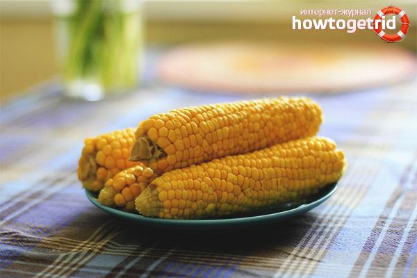 Польза варёной кукурузы при похудении