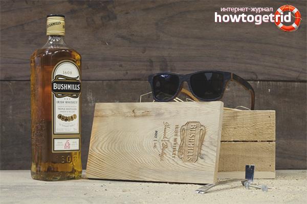 Правильное хранение виски