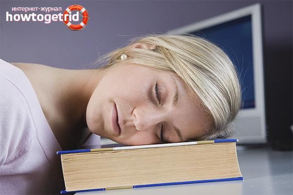 Что делать, если постоянно хочется спать?