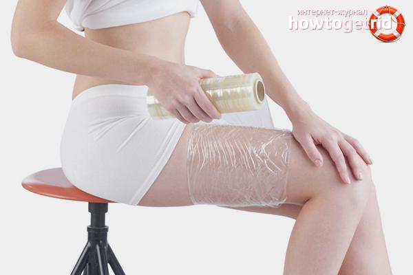Как делать обертывание для похудения