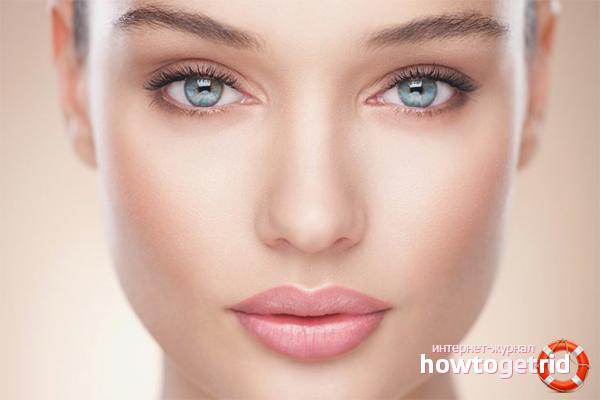 Как привести кожу лица в порядок
