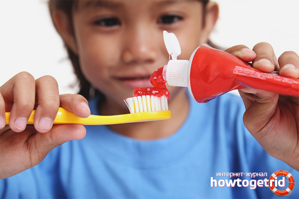 Как выбрать зубную пасту для ребенка