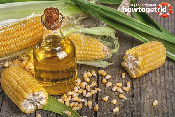 Кукурузное масло для быстрого роста волос