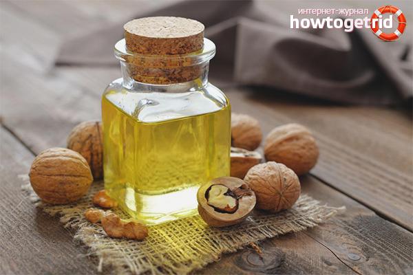 Масло грецкого ореха для увлажнения волос