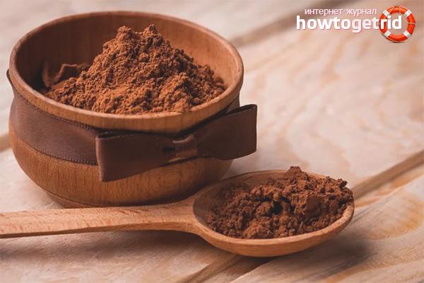 Польза и вред какао порошка