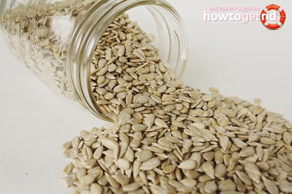Польза подсолнечных семян при похудении