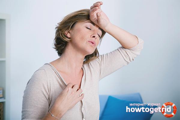 Что такое приливы при климаксе Симптомы и лечение без гормонов ароматерапия