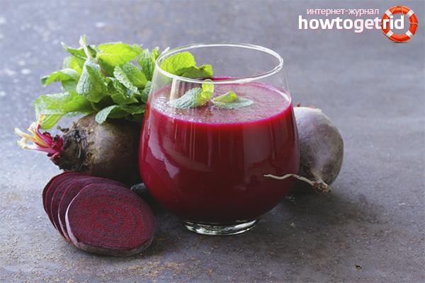 Как приготовить свекольный сок: 4 рецепта