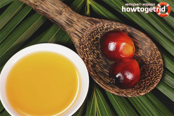 Тонкости использования пальмового масла