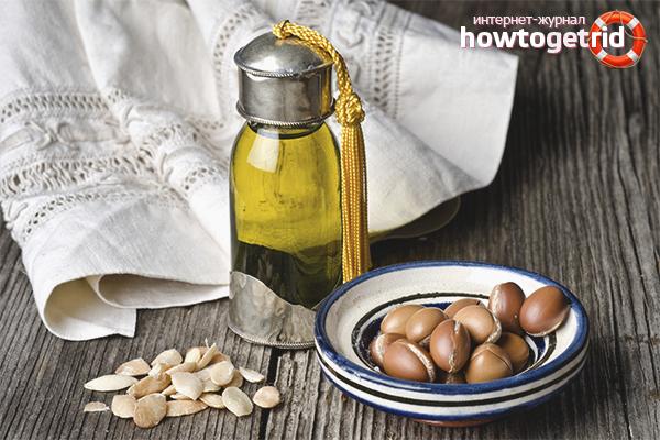 Применение арганового масла для лица