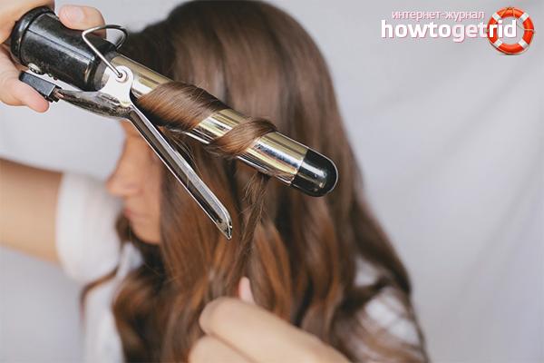 kak nakrutit volosy na plojku - Как правильно накрутить волосы на плойку