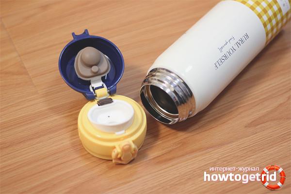 Как очистить термос от чайного налета