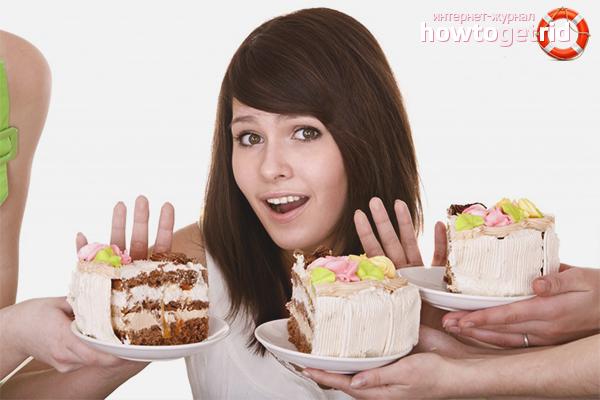 Как отказаться от сладкого и мучного