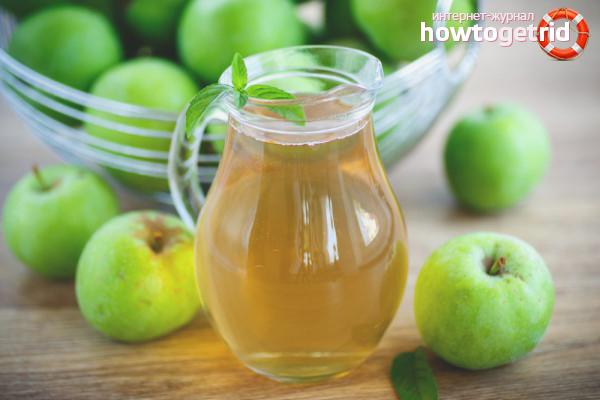 Как сварить компот из яблок: 7 рецептов