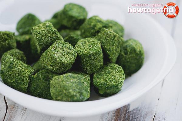 Как заморозить шпинат в домашних условиях