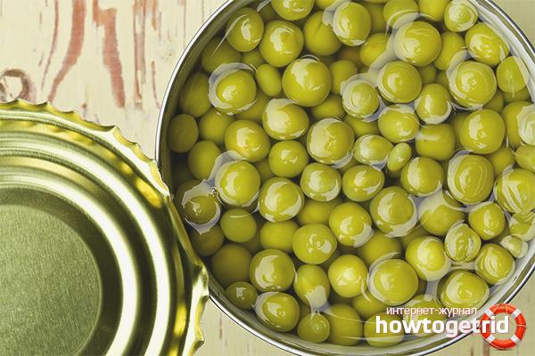 Как консервировать зеленый горошек в домашних условиях