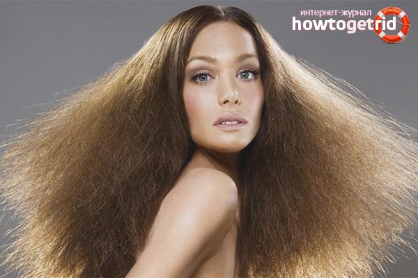Маски для непослушных волос в домашних условиях