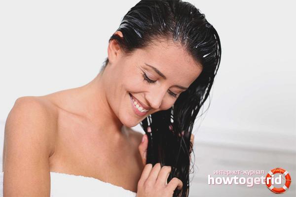 Применение камфорного масла для волос