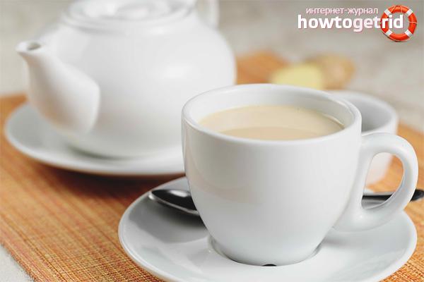 Польза черного чая с молоком